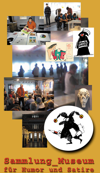 Cartoonmuseum Brandenburg in Luckau