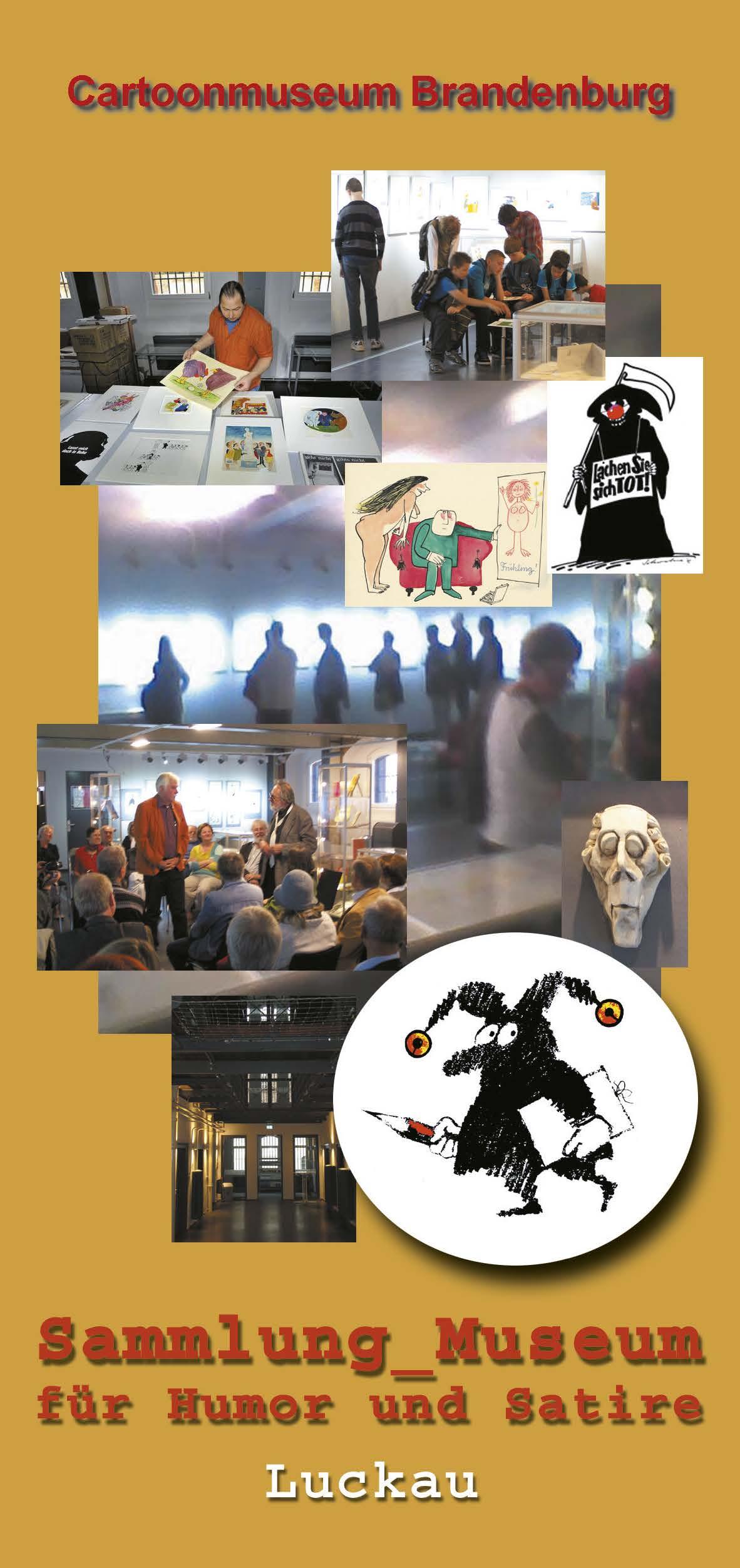 Cartoonmuseum Brandenburg in Luckau